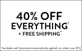 40%offeverything